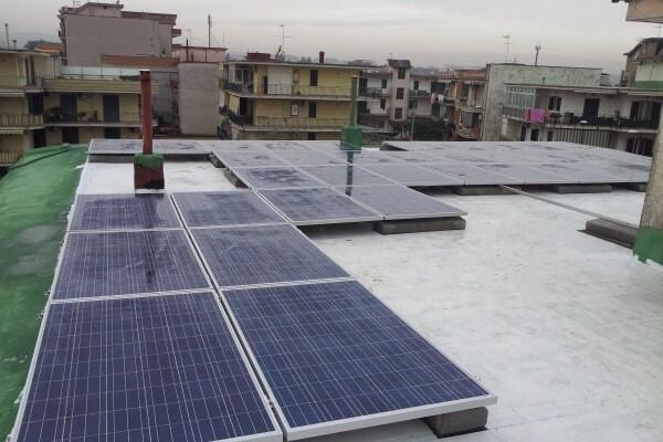 Impianto fotovoltaico - Casavatore (NA)
