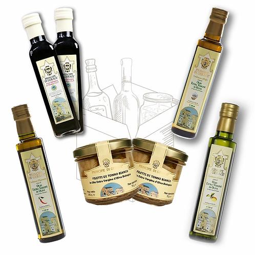 Mediterranea food Box Degustazione Specialità Principe di Gerace