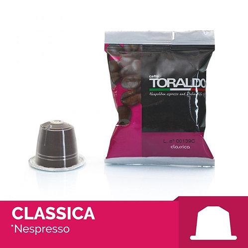 100 Capsule Compatibili Nespresso - Miscela Classica Toraldo