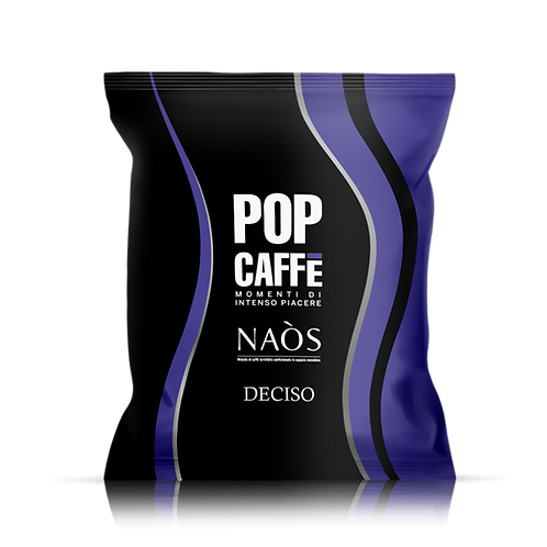100 Capsule - POP Caffè Naòs Deciso Compatibile Nespresso