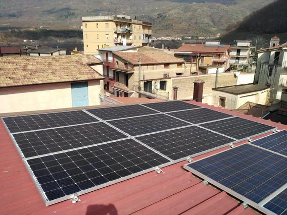 Impianto fotovoltaico - Avellino