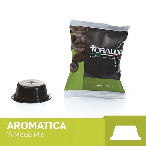 100 Capsule Compatibili A Modo Mio - Miscela Aromatica Toraldo