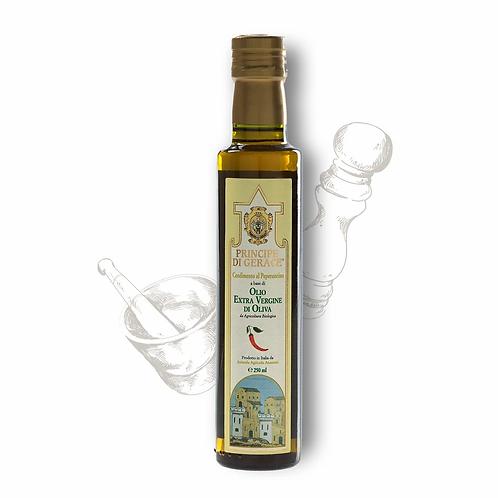 Mediterranea food Olio Extra Vergine di Oliva aromatizzato al Peperoncino Habane