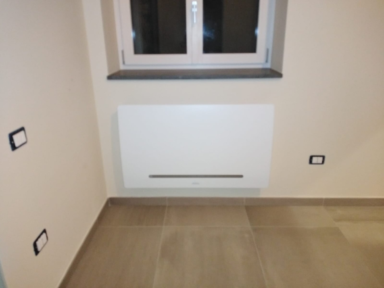 Impianto di climatizzazione con fan-coil e pompa di calore - Salento (SA)