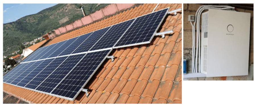 Impianto fotovoltaico con accumulo - Avellino