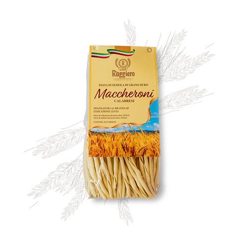 Maccheroni Calabresi di Semola di grano duro Ruggiero 500gr