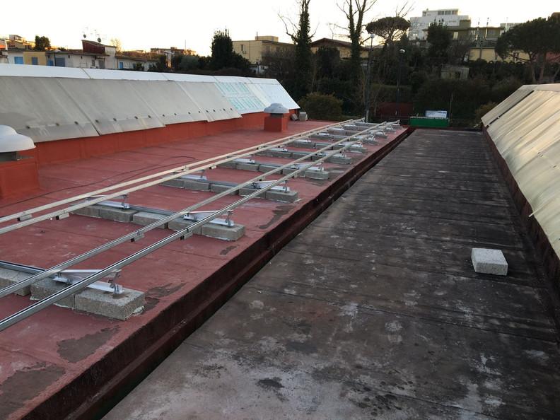 Struttura di supporto per fotovoltaico - Quarto (NA)