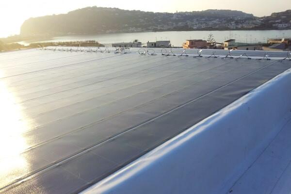 Impianto fotovoltaico integrato - Bacoli (NA)