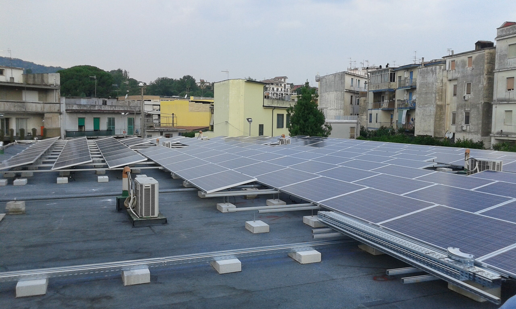 Impianto fotovoltaico - Somma V.na (NA)