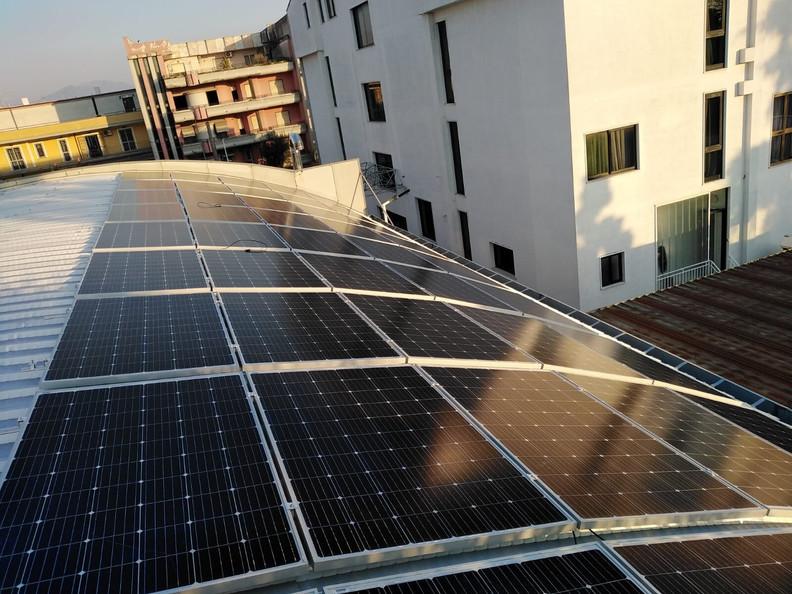 Impianto fotovoltaico - Poggiomarino (NA)