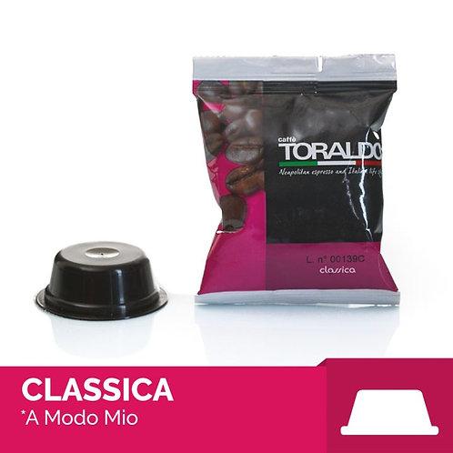 100 Capsule Compatibili A Modo Mio - Miscela Classica Toraldo