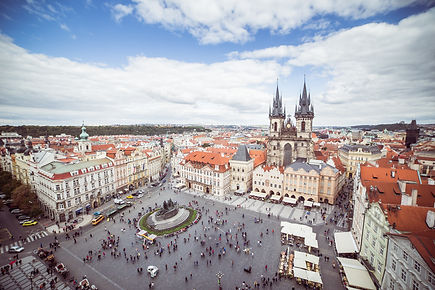 My Prague Tours - Old town sq., Pragu