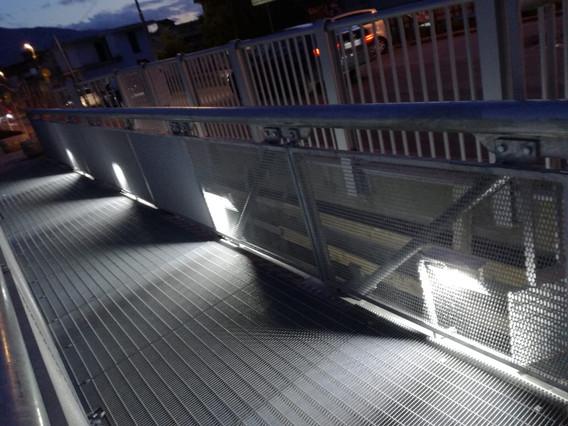 Illuminazione passerella - Sant'Anastasia (NA)