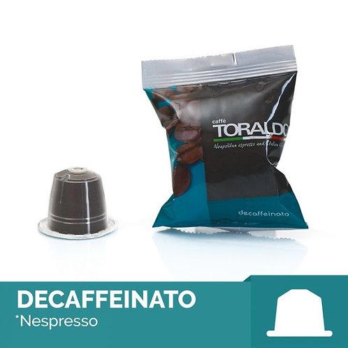 100 Capsule Compatibili Nespresso - Miscela Dek Toraldo
