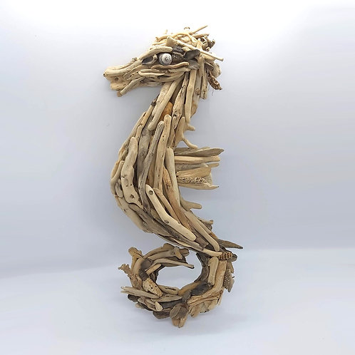 Driftwood Seahorse (left facing)