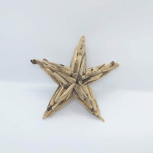 """Driftwood Starfish 7"""""""