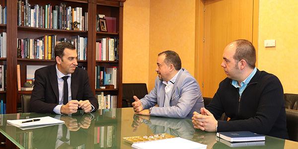 Reunión Decano del CITOPIC Zona de Madrid - Presidente de la Confederación Hidrográfica del Tajo