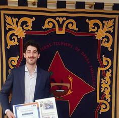 Pablo Tardío ha obtenido el Premio Manuel Vázquez en su segunda categoría