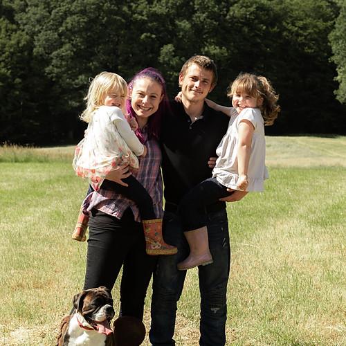 Laura-Lee, Jack, Lola & Frankie