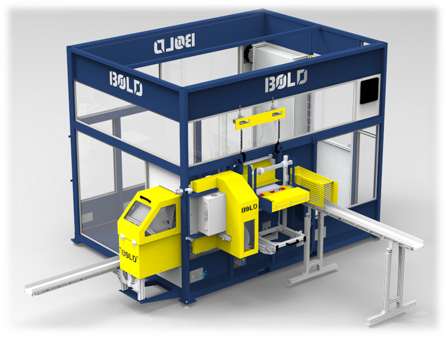 3D Design of Mylar Packaging Cell