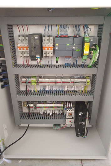Control Panel - Egg Packaging Machine