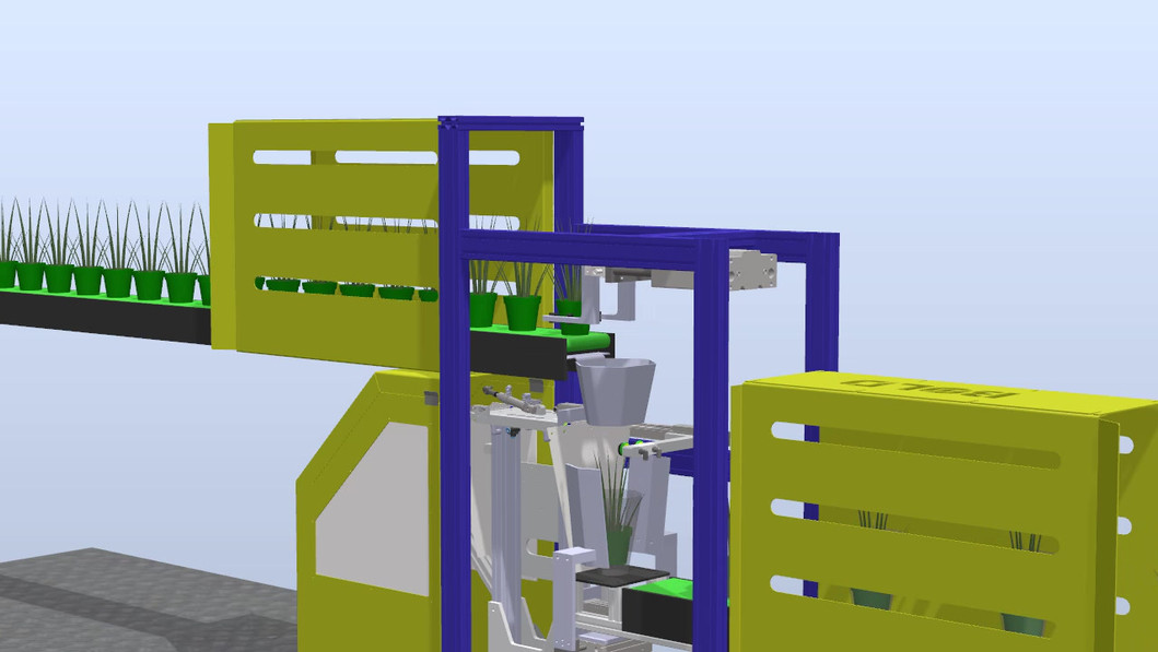 3D Concept of Auto Sleeving Machine