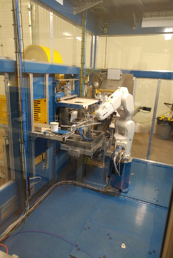 Robot Cell - Mylar, UPC and Sleeve