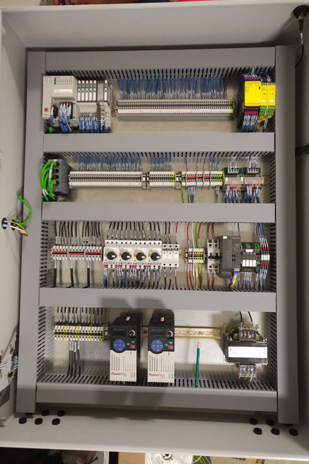 Control Panel - Steel Sheet Handling System