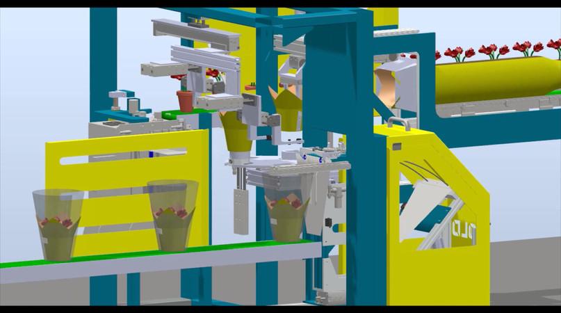 3D Concept of Pot Cover UPC Applicator
