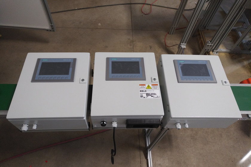 Control Panels - Production Monitoring System