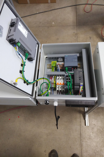 Control Panel - Production Monitoring System