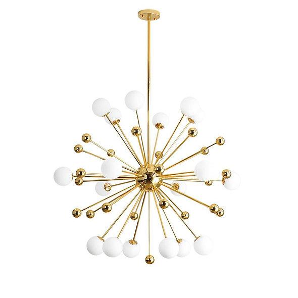 Mid-Century Modern Sputnik Sphere Chandelier