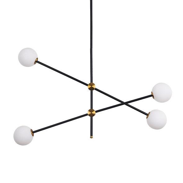 Modern Minimalist Sputnik Bubble Chandelier