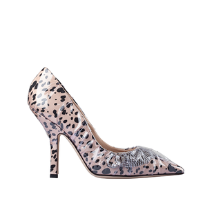 FELINA  ICONIC PUMP WITH AND CRYSTAL  SHOOTING STAR