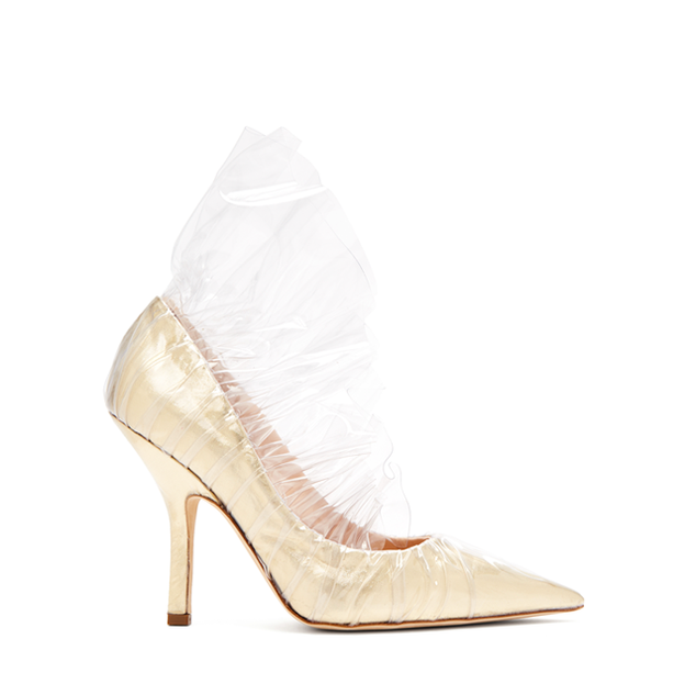 SHELL METALLIC PVC PUMPS