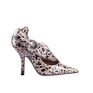 FELINA MISS PUMP ANKLE WITH SILVER MOON AND PEARL