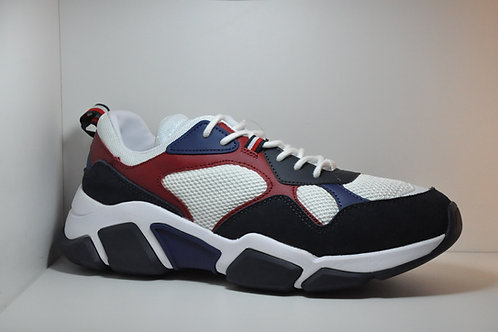 CHUNKY MATERIAL MIX SNEAKER