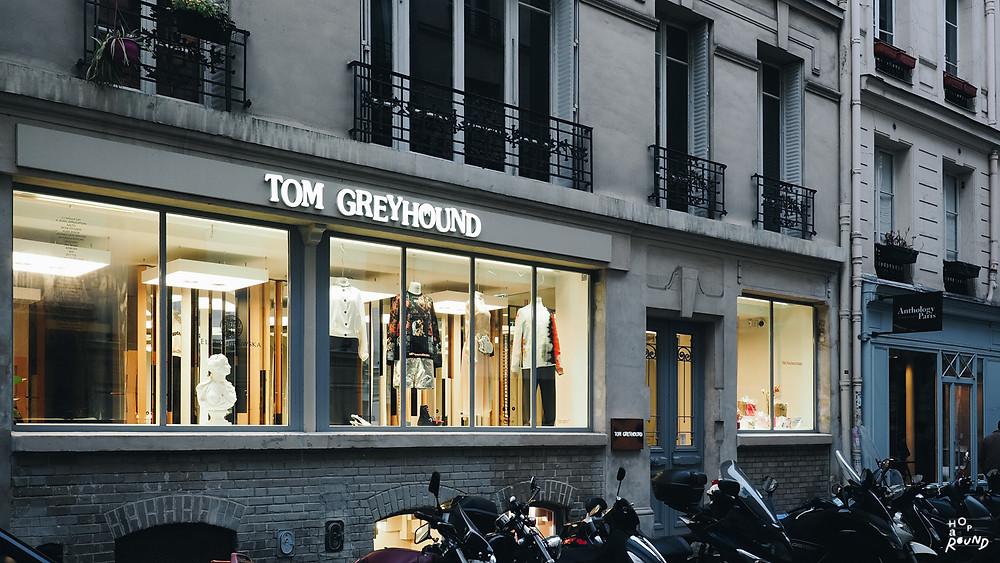 Tom Greyhound Paris