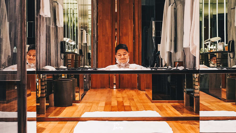 The Sukhothai Bangkok รีวิวโรงแรมเดอะสุโขทัยกรุงเทพ โรงแรมน่าพักในกรุงเทพ Best Hotel in Bangkok Luxury hotel Small Luxury hotel โรงแรมหรู โรงแรมชั้นนำ โรงแรมดี โรสวูดกรุงเทพ โรสวูด อมันปุรี กรุงเทพมหานคร Amanpuri Aman resort Hotel rosewood capella four seasons hotel marriott La Scala Bangkok Italian food Italian restaurant Ed Tuttle