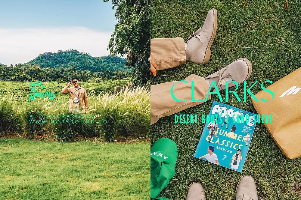 Clarks Desert Boots 2 Sand Sue รีวิวรองเท้า รีวิวรองเท้าคลากส์ Clarks Clarks Shoes hoparound.co Let's Hoparound with clarks Thai Bloggers