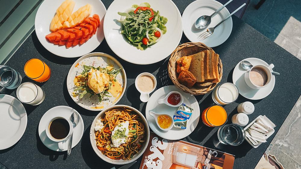 อาหารเช้า RELO' The Urban Escape - Hua Hin รีโล่ ดิ เออเบิ้ลเอสเคป หัวหิน สุดสบายและเป็นส่วนตัว
