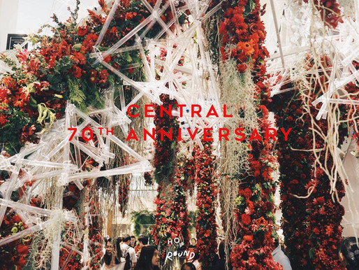 Central 70th Anniversary Flower Extravaganza