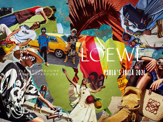 LOEWE PAULA'S IBIZA 2021 ปล่อยใจฝันกับสีสันแห่งเกาะ Ibiza