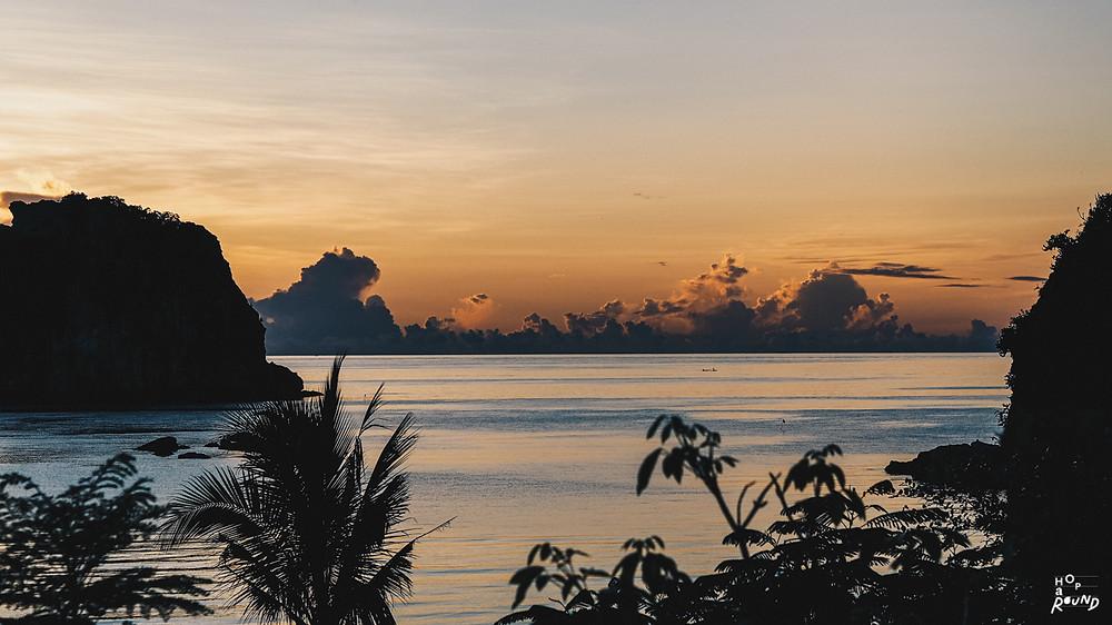 พระอาทิตย์ขึ้นฝั่งอ่าวไทย