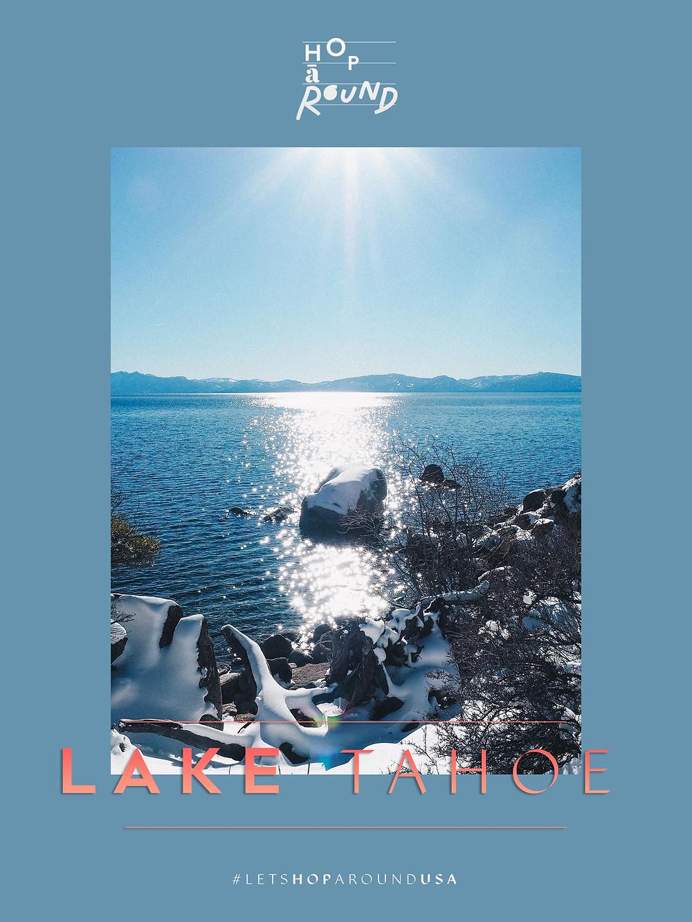 Lake Tahoe จุดชมวิว เที่ยวอเมริกา โรดทริป America West Coast Road Trip USA เที่ยวอเมริกาด้วยตัวเอง เช่ารถขับ รอบอเมริกา ซานฟรานซิสโก แคลิฟอเนียร์ ซีแอตเทิล ลอสแองเจลิส ซานดิเอโก้ พอร์ทแลนด์ Portland San Diego Los Angeles Seattle California ร้านอร่อย ร้านอาหาร คาเฟ่ ช็อปปิ้ง ชอปปิ้ง จุดน่าแวะในอเมริกา ขับรถรอบอเมริกา