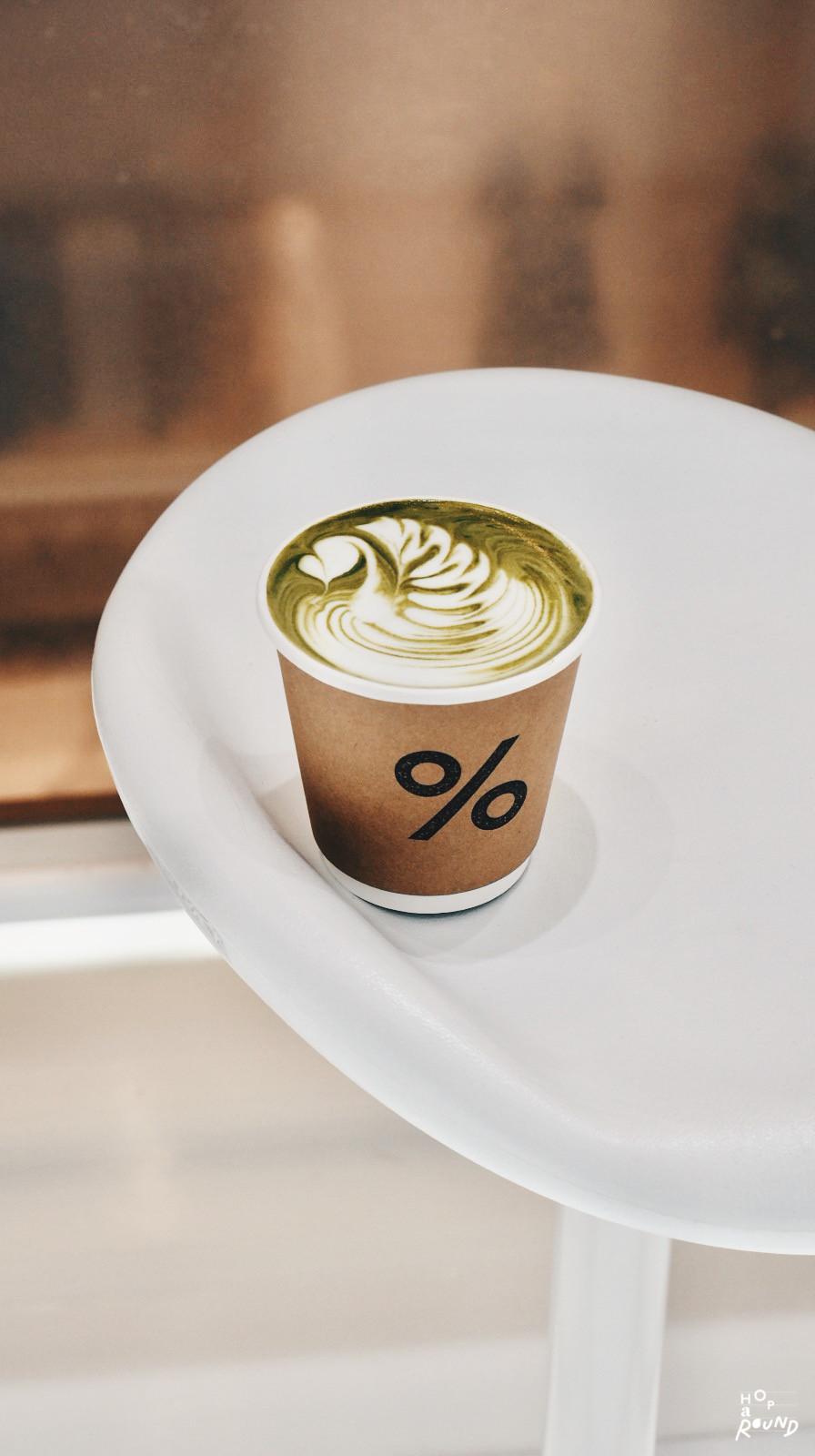 Matcha Latte (Hot) 150.- (8oz)
