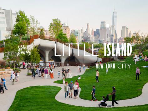 Little Island NYC สวนแห่งชีวิตใหม่หลังโควิดที่นิวยอร์ก