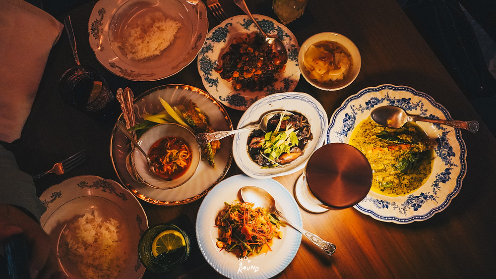 Aksorn ย้อนรอยต้นตำรับอาหารไทยยุค Post-WWII รีวิวห้องอาหารอักษร เจริญกรุง เซ็นทรัล ดิ ออริจินัลสโตร์ จากเชฟ David Thompson รีวิวร้านอาหาร อาหารไทยโบราณ ขนมไทยโบราณ สูตรต้นตำรับ ร้านอาหารไทย ย่านเจริญกรุง