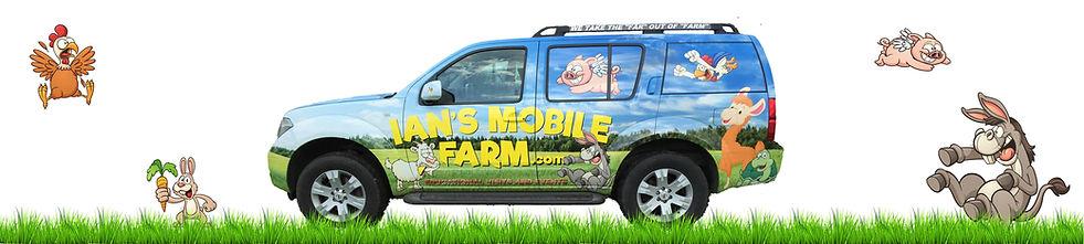 Ians mobile farm ,mobile farm, cannon hall farm