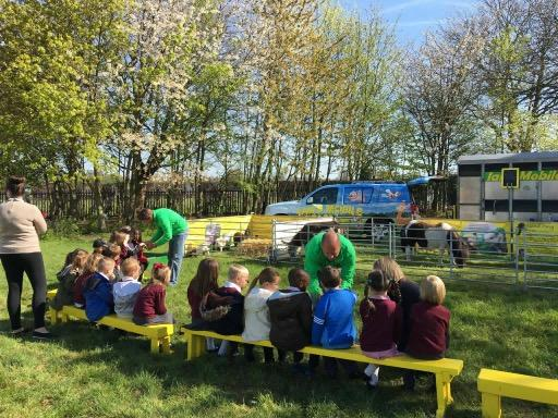 ians mobile farm school visits